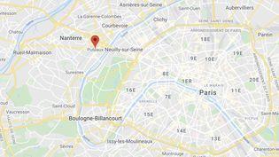 L'incendie s'est déclenché dans le foyer de résidence sociale Adoma de Puteaux (Hauts-de-Seine). (GOOGLE MAPS)