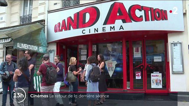 Cinéma : la fin du couvre-feu signe le retour de la dernière séance