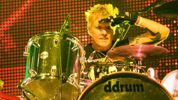 James Kottak, le batteur de Scorpions, le 10 mars 2014 à Lisbonne  (RM3/WENN.COM/SIPA)