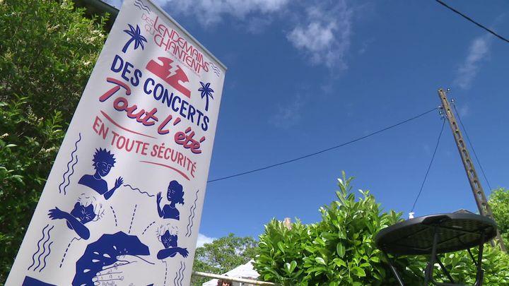13 concerts organisés jusqu'au 27 août 2020 dans les jardins de particuliers corréziens. (A. Martiniky / France Télévisions)