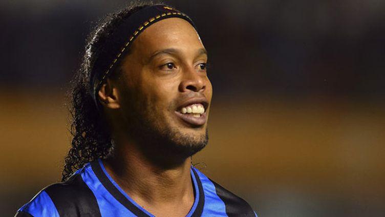 Le joueur brésilien Ronaldinho