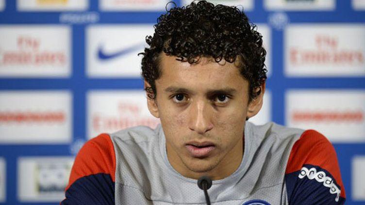 Le défenseur brésilien du PSG, Marquinhos
