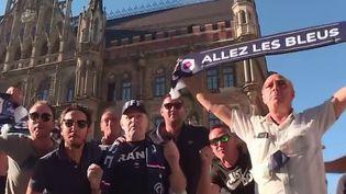 France-Allemagne : les supporters français font déjà vibrer les rues de Munich (France 2)