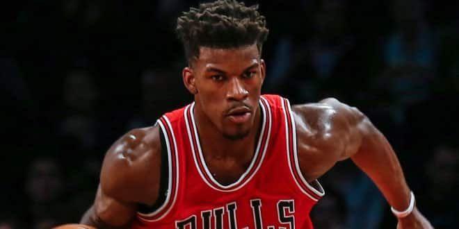 Le joueur des Bulls, Jimmy Butler