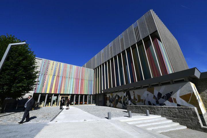 La Cité internationale de la Tapisserie à Aubusson (Creuse).  (Georges Gobet / AFP)