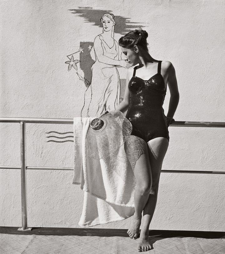 """Louise Dahl-Wolfe, l'élégance en continu"" :Sans titre, 1940  (Louise Dahl-Wolfe, 1989 Center for Creative Photography, Arizona Board of Regents. Courtesy Staley-Wise Gallery, New York)"