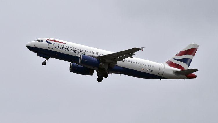 Un Airbus A320 de la British Airways décolle de l'aéroport de Toulouse-Blagnac le 19 octobre 2017. (PASCAL PAVANI / AFP)