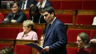 Jean-Charles Colas-Roy, député LREM de l'Isère, à l'Assemblée nationale, le 14 janvier 2020. (LUDOVIC MARIN / AFP)
