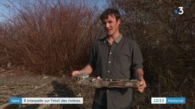 Environnement : un militant écologiste interpelle sur l'état des rivières en Isère