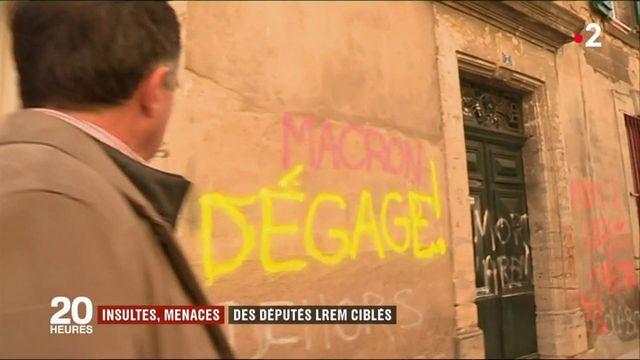 Insultes, menaces : des députés LREM ciblés