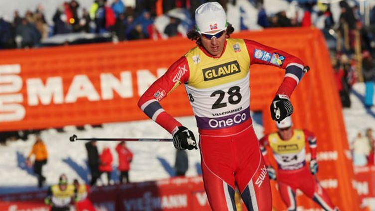 Le skieur norvégien Mikko Kokslien