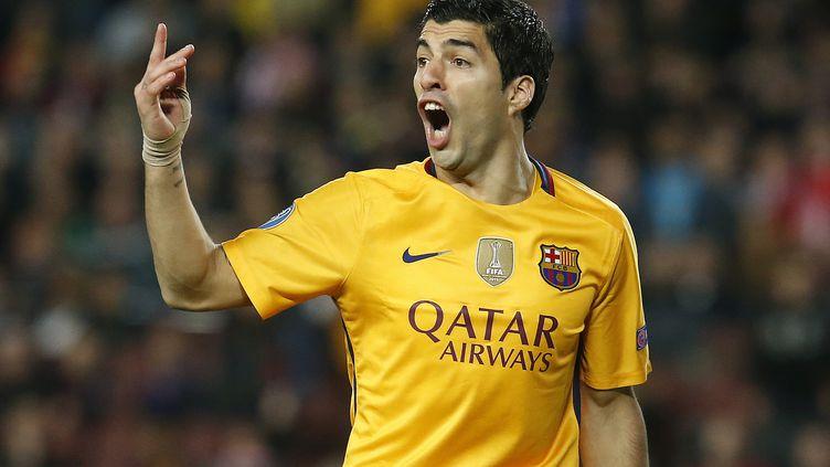 L'Uruguayen Luis Suarez (PAU BARRENA / AFP)