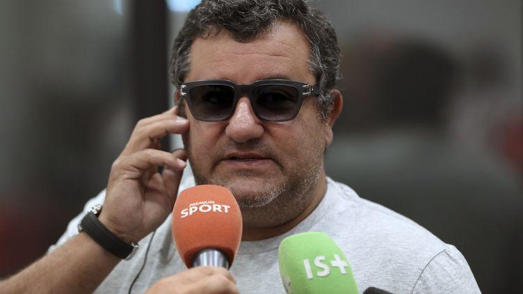 Mino Raiola. (VALERY HACHE / AFP)