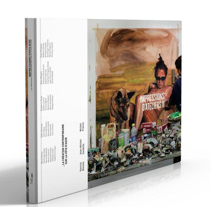 """L'ouvrage """"Impressions d'artistes"""" répertorie 30 artistes de création contemporaine de la région niçoise  (Impressions d'Ateliers)"""