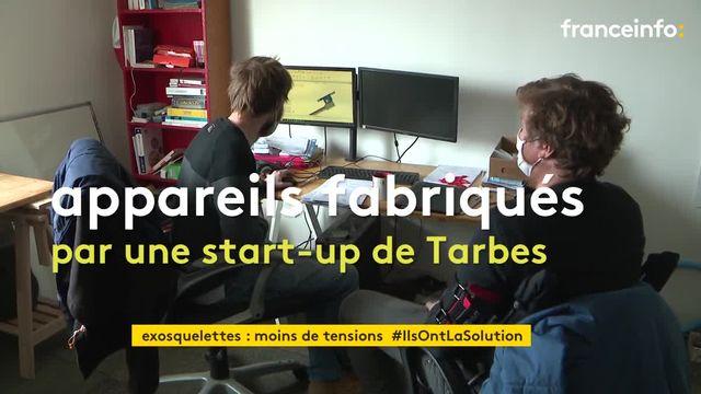 Une start-up des Hautes-Pyrénées développent des exosquelettes pour soulager les métiers physiques