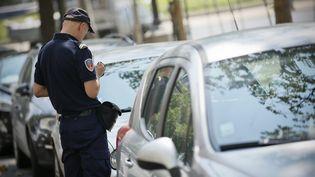 A Paris, seuls 13% des automobilistes verbalisés pour stationnement payent leur amende dans les délais légaux. (MAXPPP)