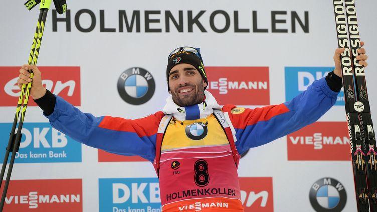 Martin Fourcade champion du monde de biathlon (ALEXEY FILIPPOV / RIA NOVOSTI)