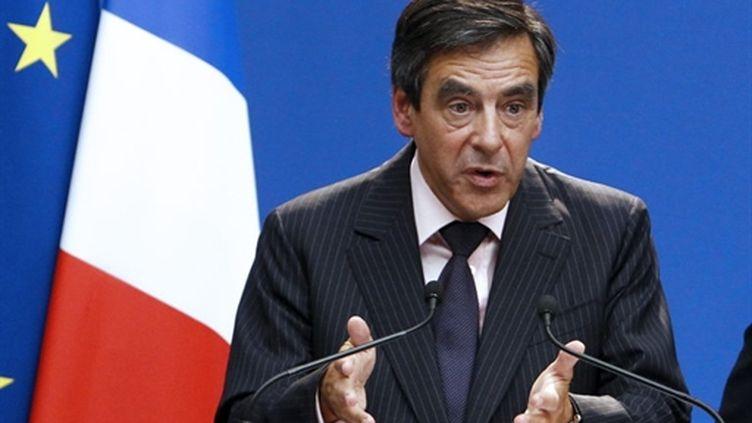 Le Premier ministre, François Fillon le 26/08/10 (AFP Pierre Verdy)