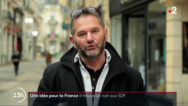 Une idée pour la France : la solidarité au service des sans-abris.