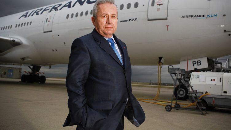 Pierre-Henri Gourgeon, ancien patron d'Air France-KLM, le 14 janvier 2011 à Roissy (Val-d'Oise). (CAPMAN / SIPA)
