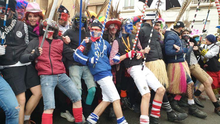 Le carnaval de Dunkerque, édition 2020, le 22 février 2020. (VERONIQUE HOUDAN / FRANCE-BLEU NORD)