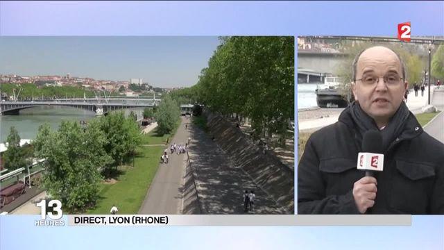 À Lyon, le Rhône a repris une place centrale