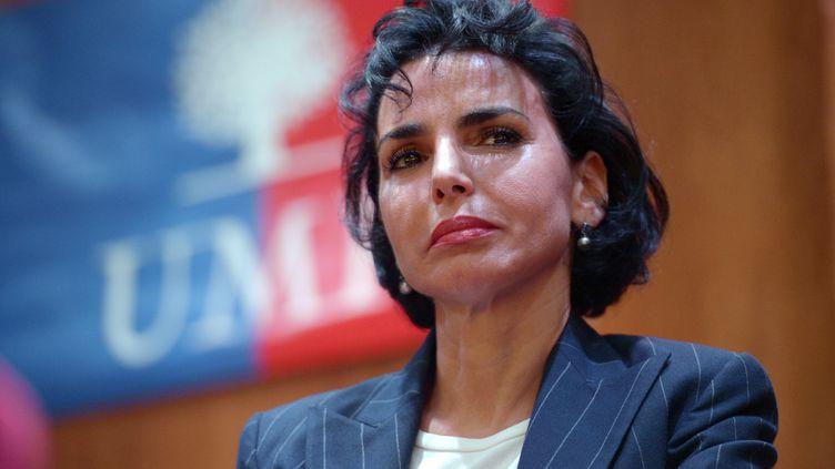 Rachida Dati, maire UMP du 7e arrondissement de Paris, le 8 novembre 2012. (BERTRAND GUAY / AFP)