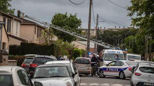 Une femme est morte à Mérignac après avoir été blessée par arme à feu puis brûlée vive par son mari dont elle était séparée. (DAVID THIERRY / MAXPPP)