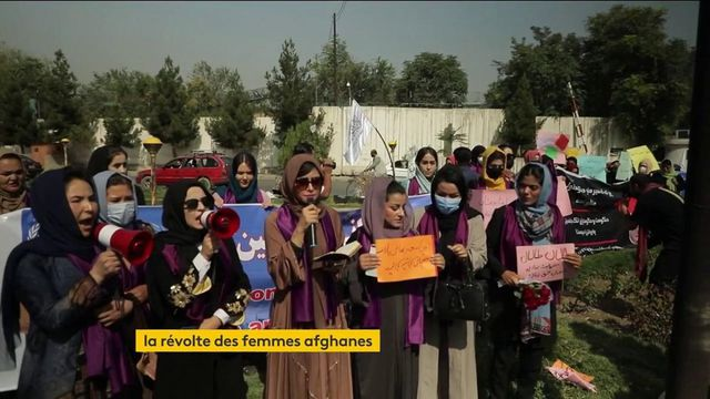 Afghanistan: Faced with the return of the Taliban, the Afghan women's insurgency