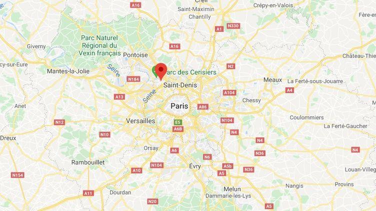 Argenteuil, dans le Val-d'Oise. (GOOGLE MAPS)