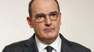 Le Premier ministre Jean Castex lors d'une conférence de presse à Paris, le 10 décembre 2020. (THOMAS SAMSON / AFP)