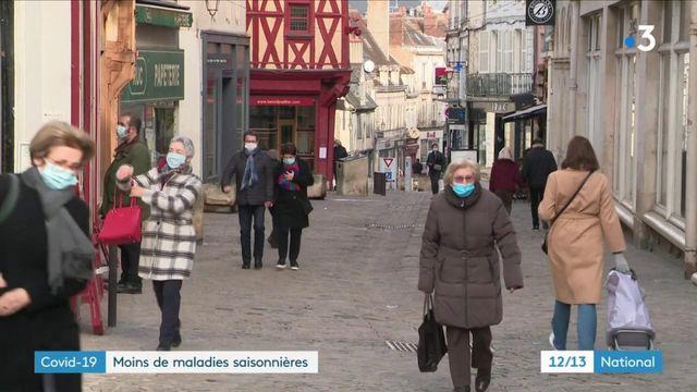 Covid-19 : beaucoup moins d'épidémies saisonnières