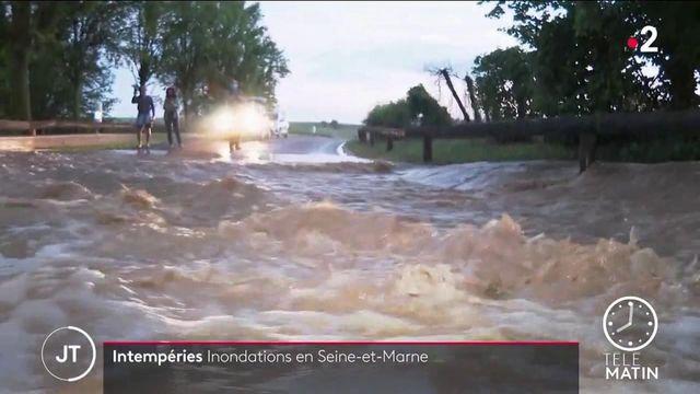 Seine-et-Marne : une dizaine de communes inondées après de violents orages