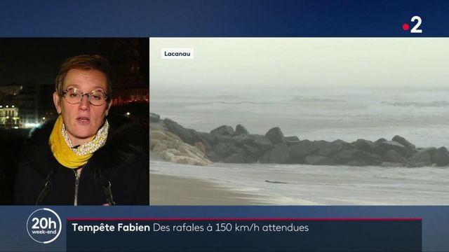Tempête Fabien : des rafales à 150 km/h attendues sur la côte atlantique