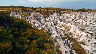 Le massif du Makay, un paysage de canyons et de forêts primaires dans le Sud-Ouest de Madagascar. (Evrard Wendenbaum)