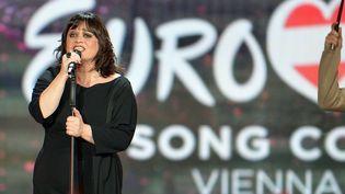 Lisa Anglel a terminé 25ème sur 27 lors de cette édition 2015 de l'Eurovision. (KERSTIN JOENSSON/AP/SIPA / AP)