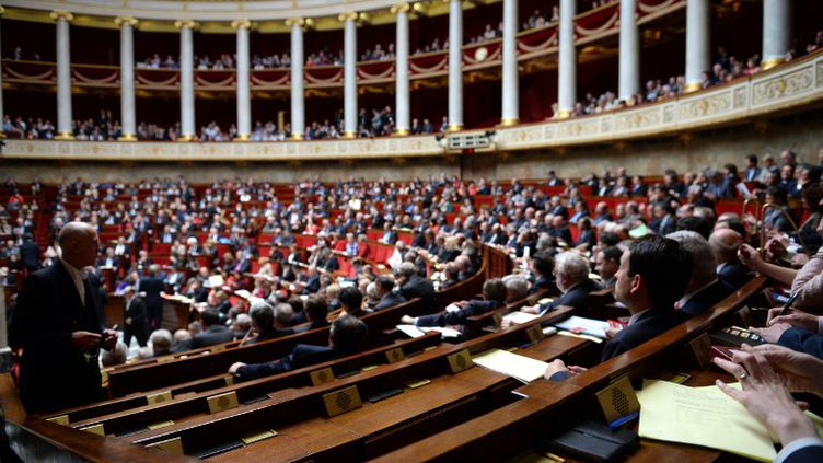 L'Assemblée nationale, le 23 avril 2013. (MARTIN BUREAU / AFP)