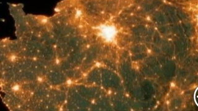 La pollution lumineuse explose en France