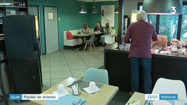 Aude : les sinistrés essayent d'avancer