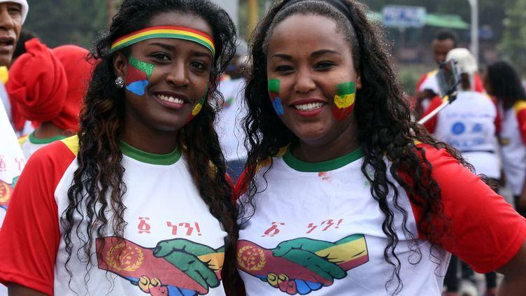 Ethiopiens et Erythréens ont couru à Addis-Abeba pour célébrer la paix. (Minasse Wondimu Hailu / Anadolu Agency)