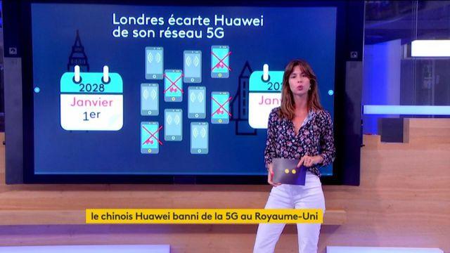 Le Royaume-Uni écarte Huawei de son réseau 5G