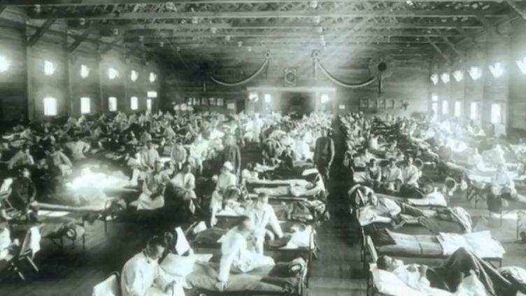 Grippe espagnole. (FRANCE 3)