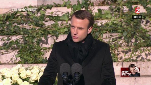 Discours d'Emmanuel Macron