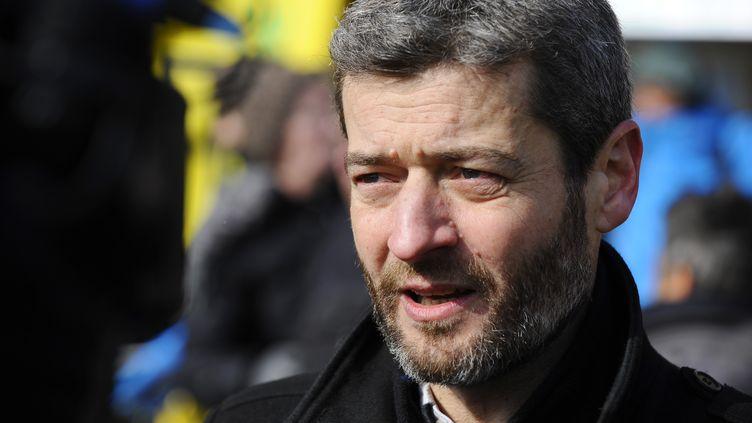 Jean-François Julliard,directeur général de Greenpeace France. (JEAN-CHRISTOPHE VERHAEGEN / AFP)