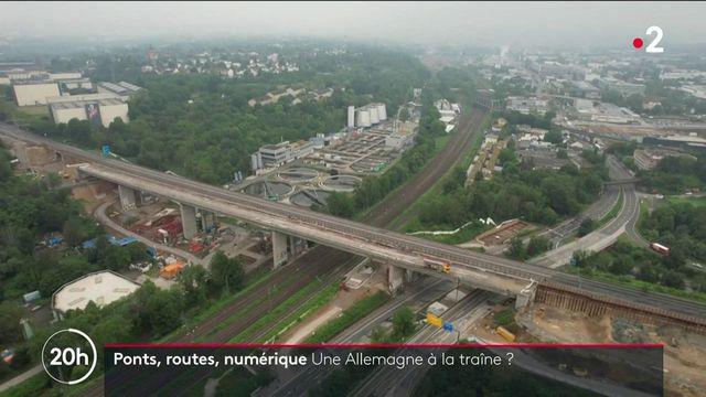 Allemagne : les infrastructures du pays à la traîne
