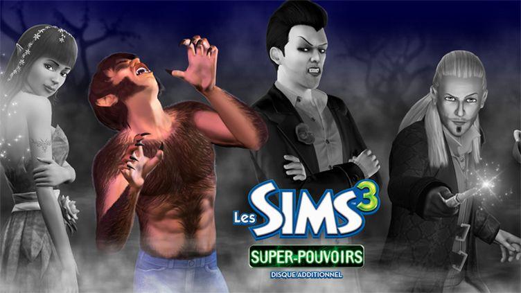 Sims 3 super-pouvoirs cover