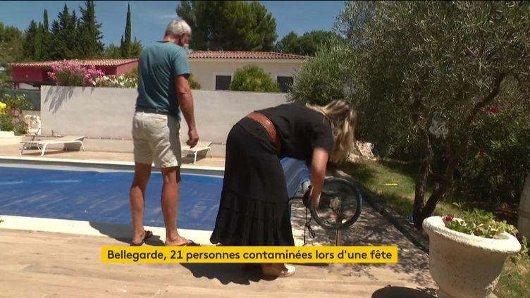 Les foyers de contamination au coronavirus se multiplient en France. À Bellegarde, dans le Gard, 21 personnes ont été touchées après un rassemblement familial. (FRANCEINFO)