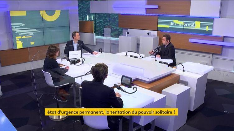 Les informés du matin du 19 février 2021. (FRANCEINFO / RADIO FRANCE)