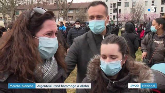 Argenteuil : marche blanche émouvante en hommage à Alisha