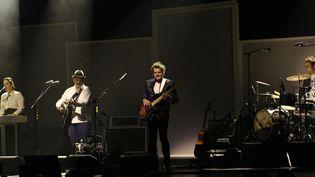 Louis, Matthieu, Joseph et Anna Chedid en concert à Roubaix le 17 mai 2015  (PHOTOPQR/VOIX DU NORD)